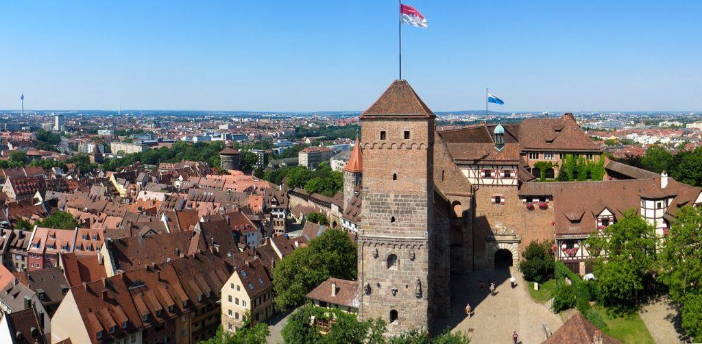 Die Kaiserburg von Nürnberg ist das Wahrzeichen der Stadt - Allmächd Nürnberg.