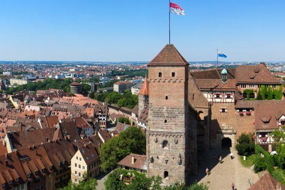 Die Kaiserburg von Nürnberg ist das Wahrzeichen der Stadt.