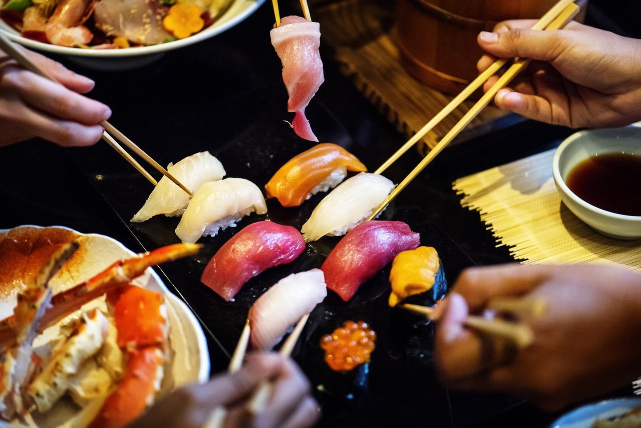 Sushi Essen im CuDong in Nürnberg ist empfehlenswert.