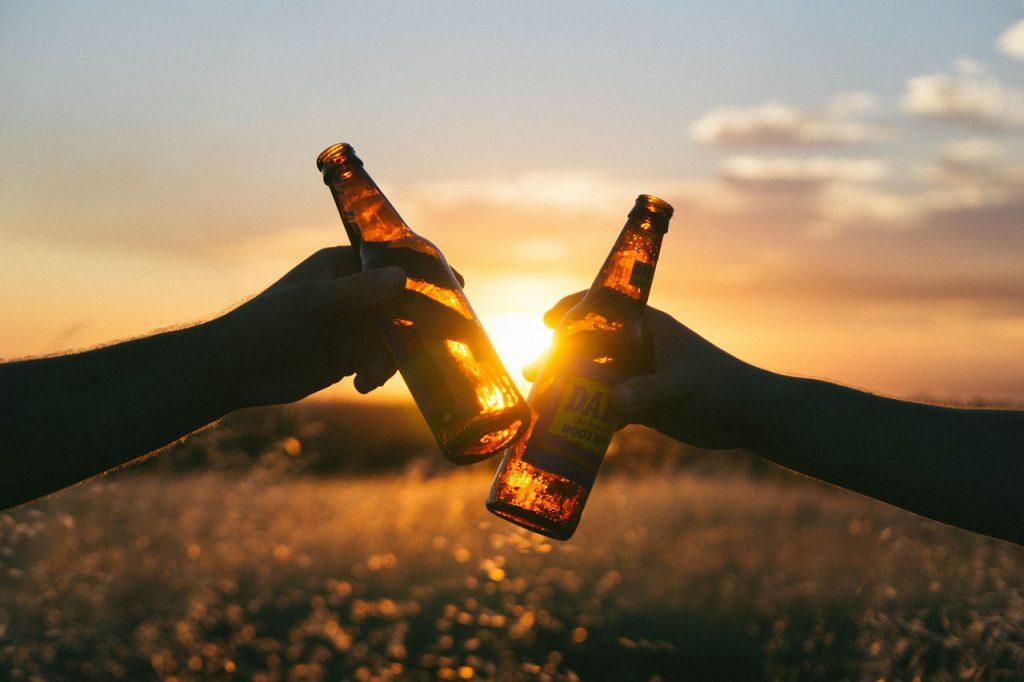 Lesen für Bier ist eine tolle Veranstaltung am Valentinstag im Parks in Nürnberg.