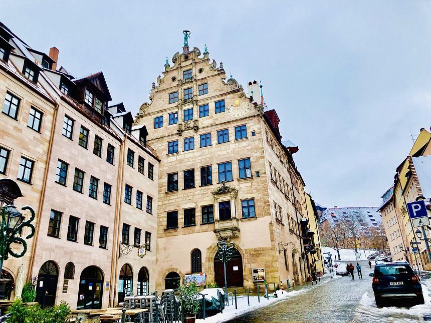 Das Fembohaus in Nürnberg ist schön.