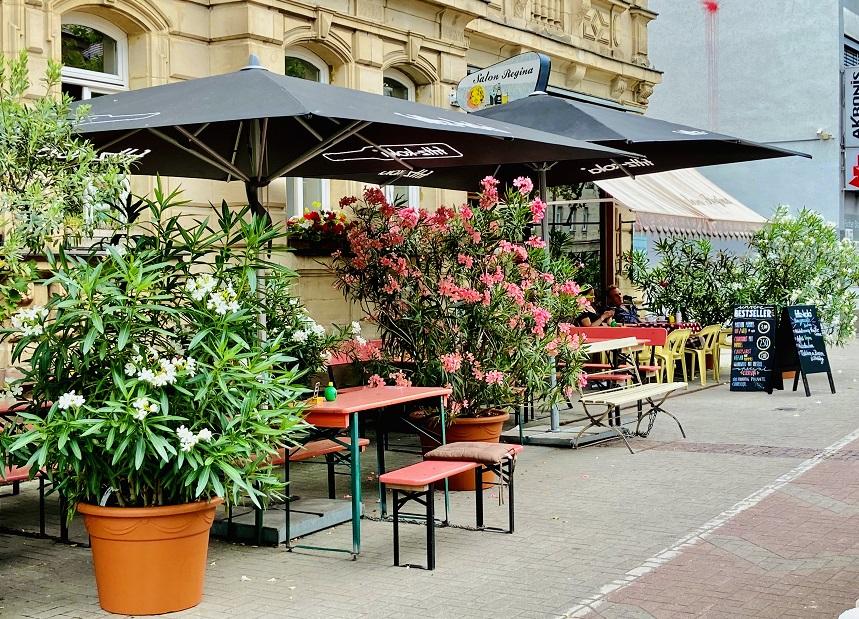 Das Café Regina in Gostenhof ist gut zum Frühstücken.