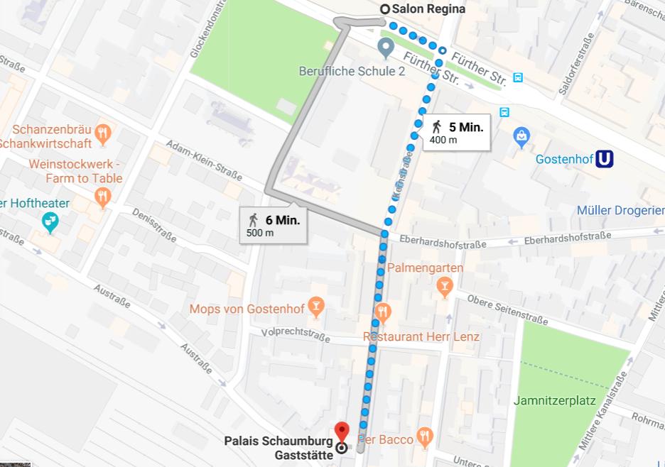 Die Fußwege bei einer Kneipentour in Gostenhof sind kurz.