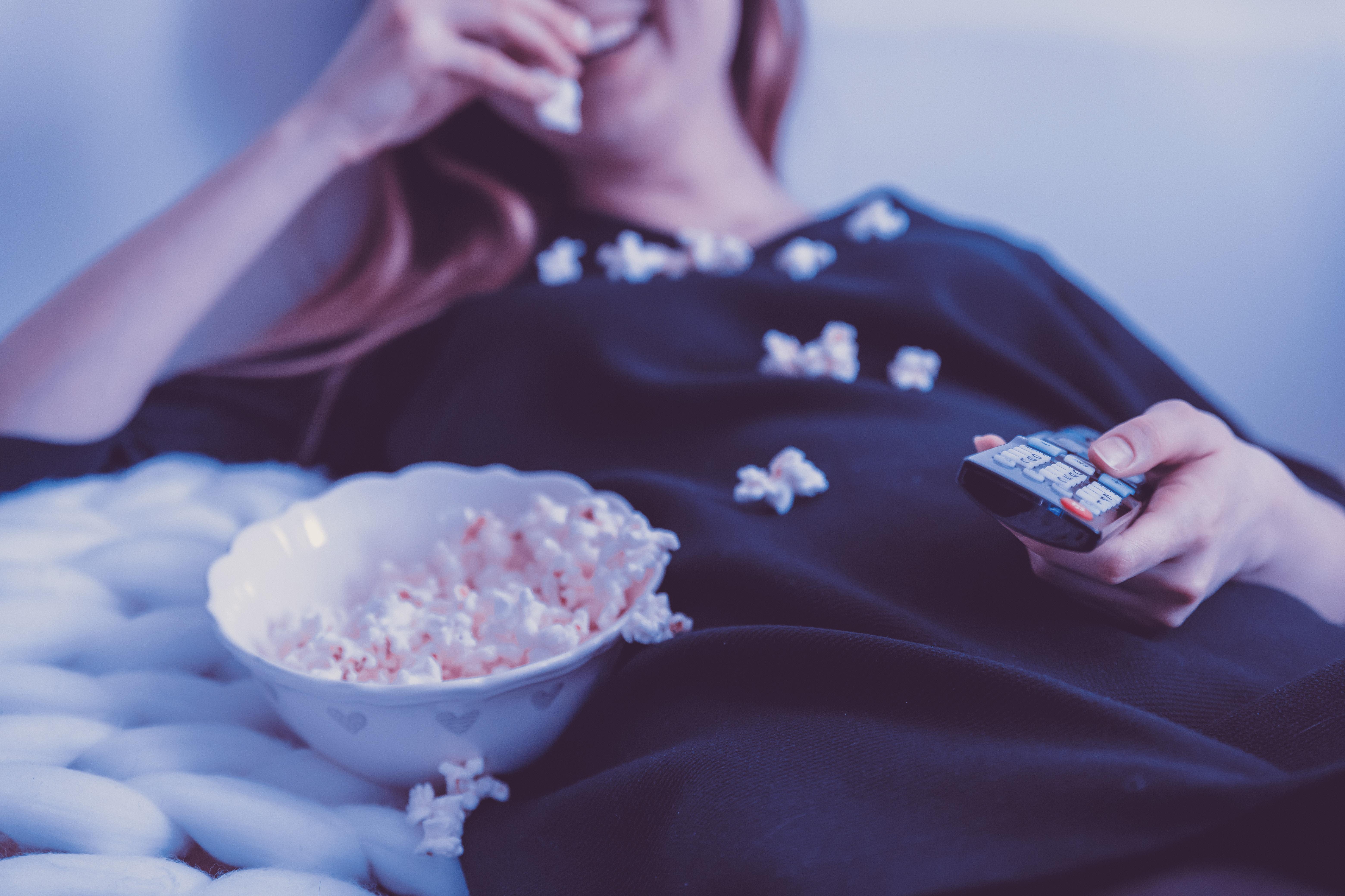 Wer krank ist, kann sich seine Zeit mit Netflix schauen vertreiben.