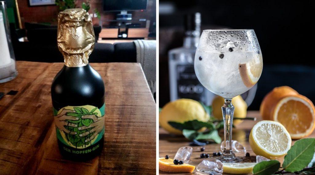 Der Hopfen Gin von Hertel ist aus der Region und daher ein nachhaltiges Produkt.