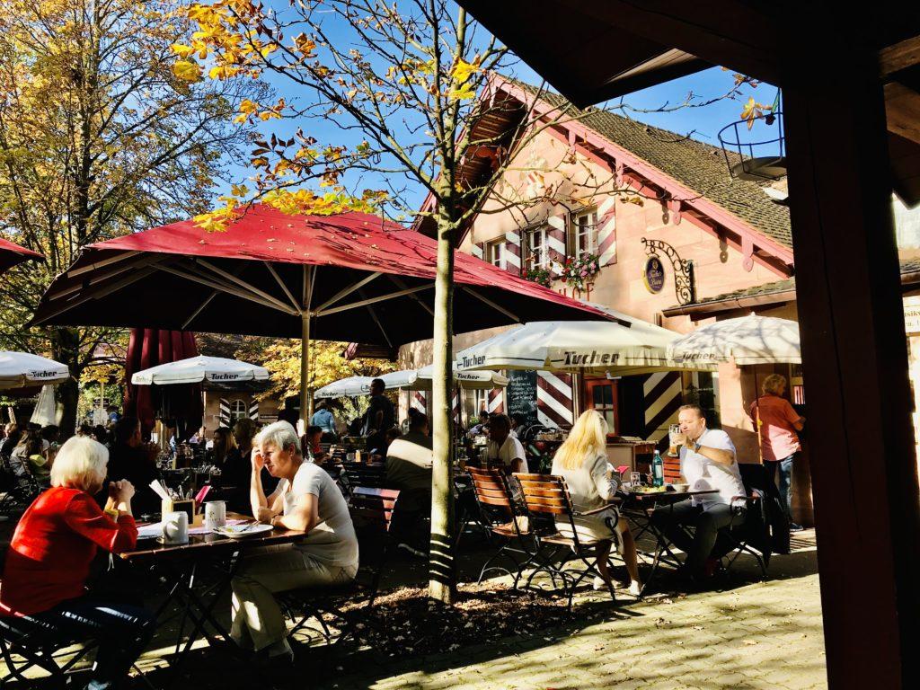 Die 11 schönsten Biergärten in Nürnberg.