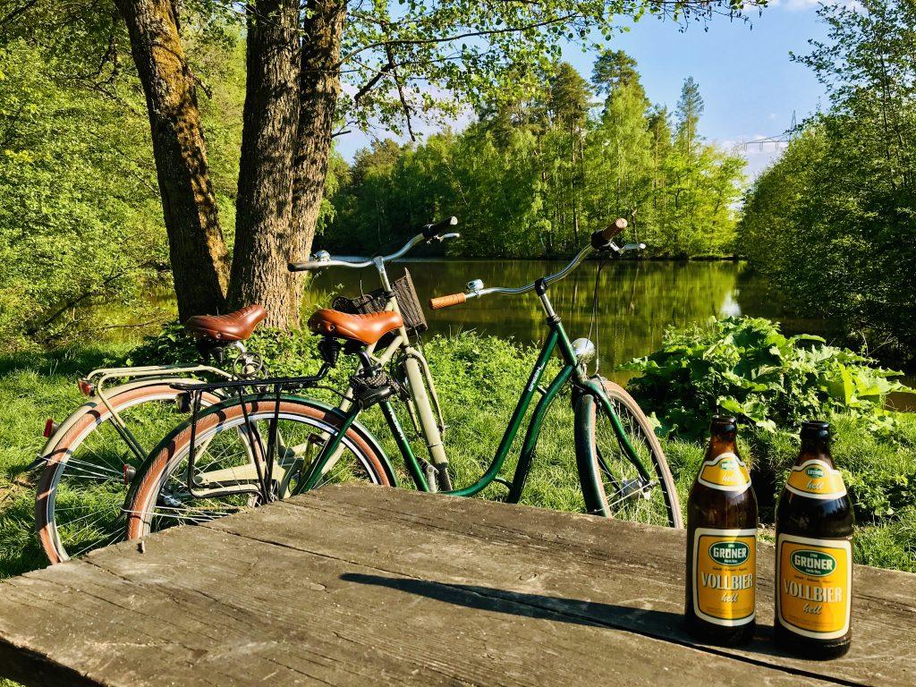 Eine Fahrradtour in Nürnberg ist super für Sonntags.