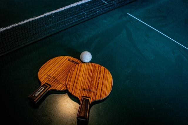 Tischtennis in Nürnberg.