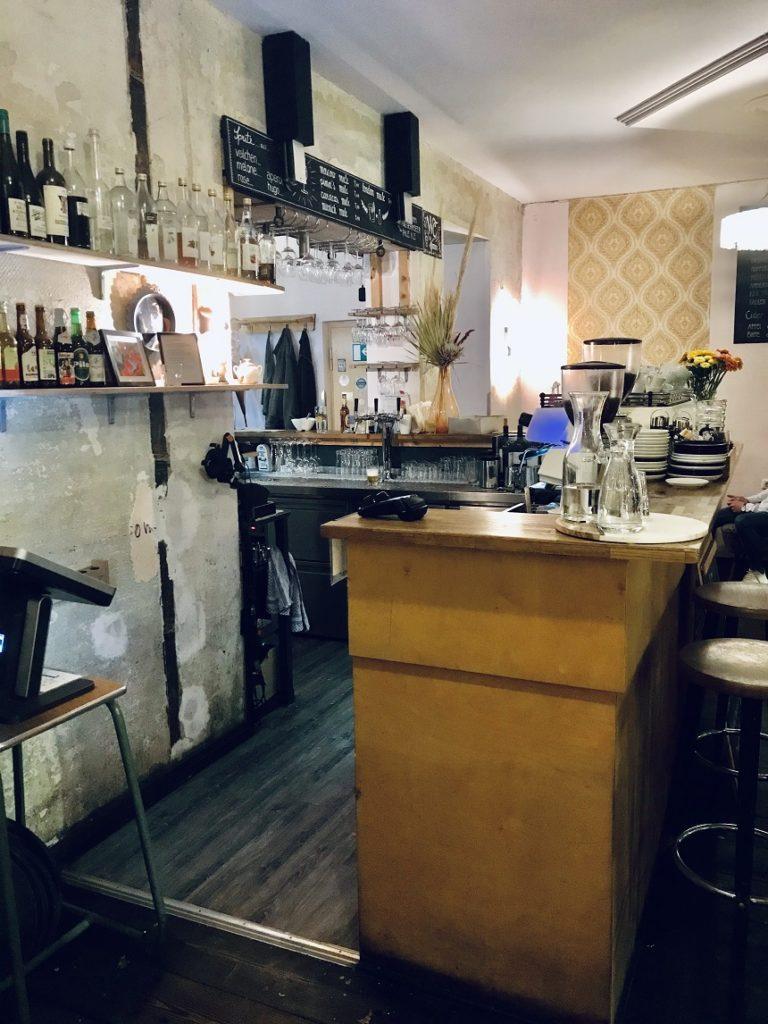 Das Café Katz in Nürnberg.