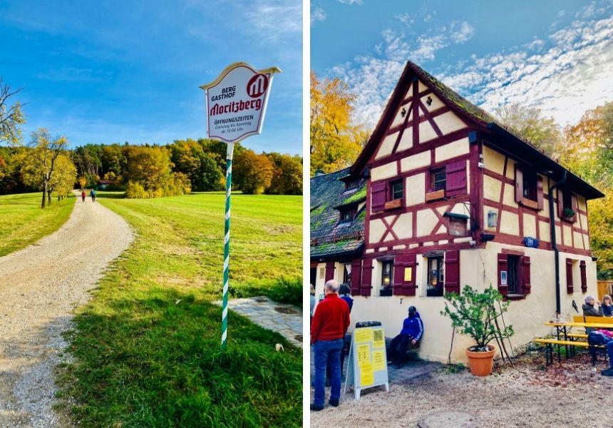 Eine Wanderung zum Moritzberg.