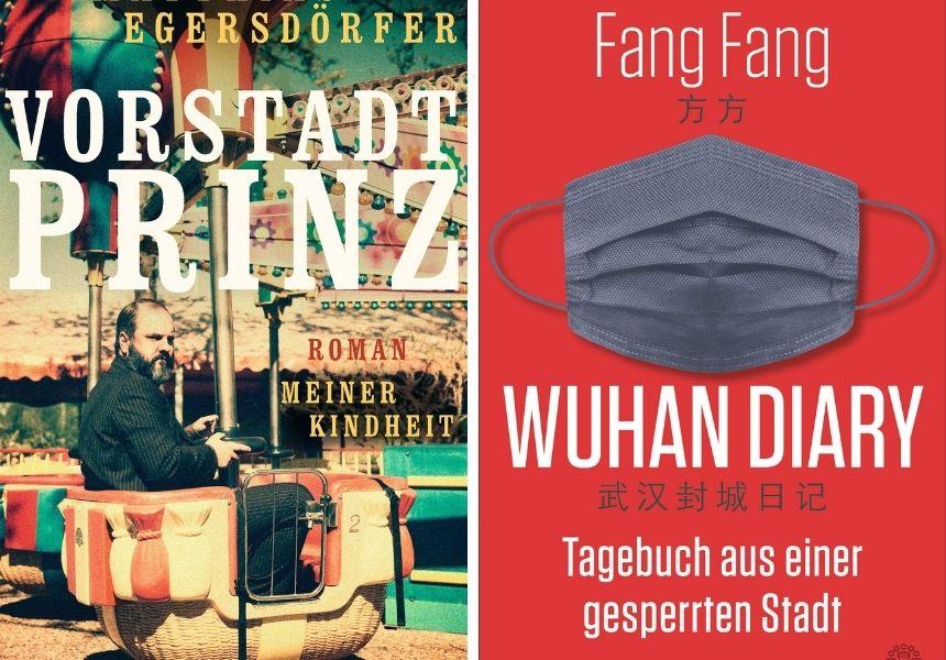 Bücher vom Egersdörfer aus Nürnberg und über die Corona Grippe.