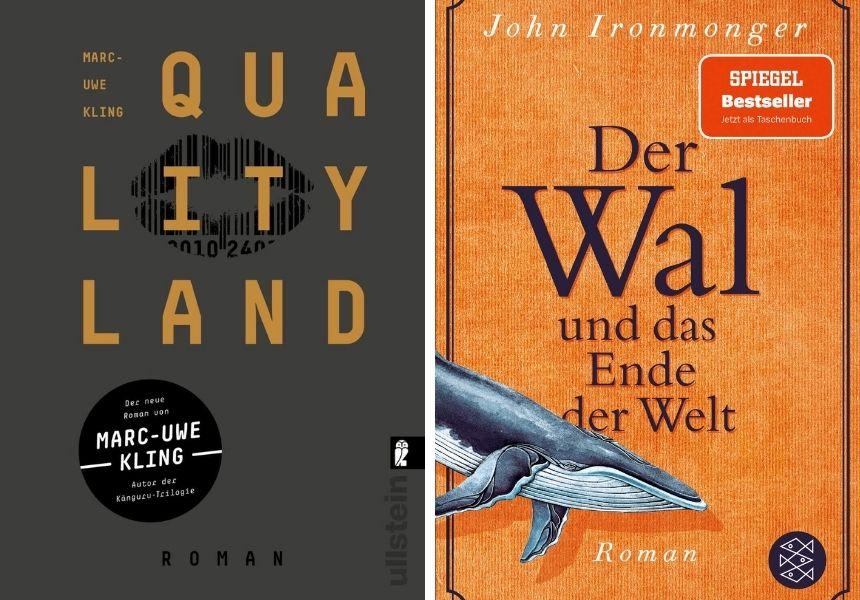 Zwei spannende Bücher als Empfehlung für den Herbst.