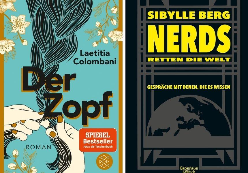 Der Zopf und Nerds retten die Welt sind tolle Bücher für den Herbst.