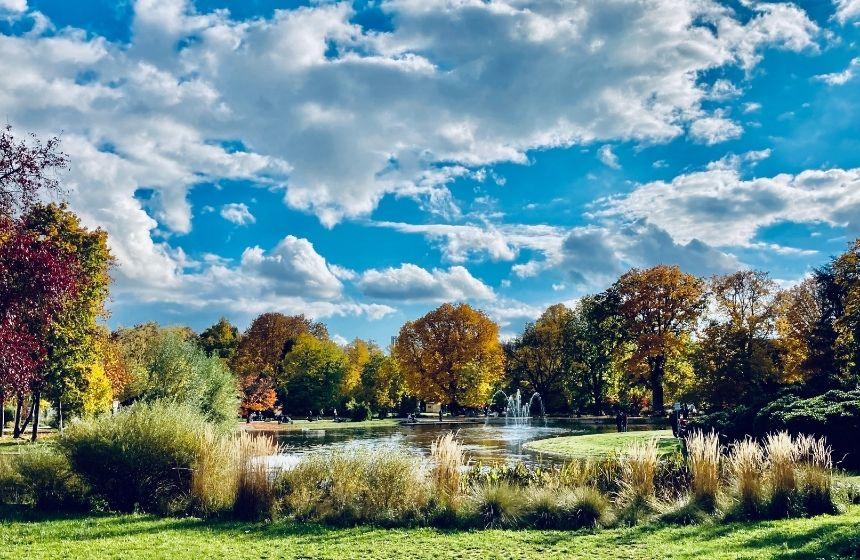 Herbstwanderungen rund um Nürnberg.