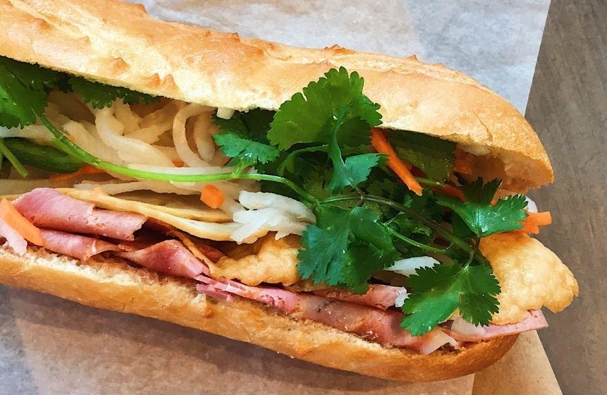 Banh Mi Sandwich ist leckeres Streetfood in Nürnberg.