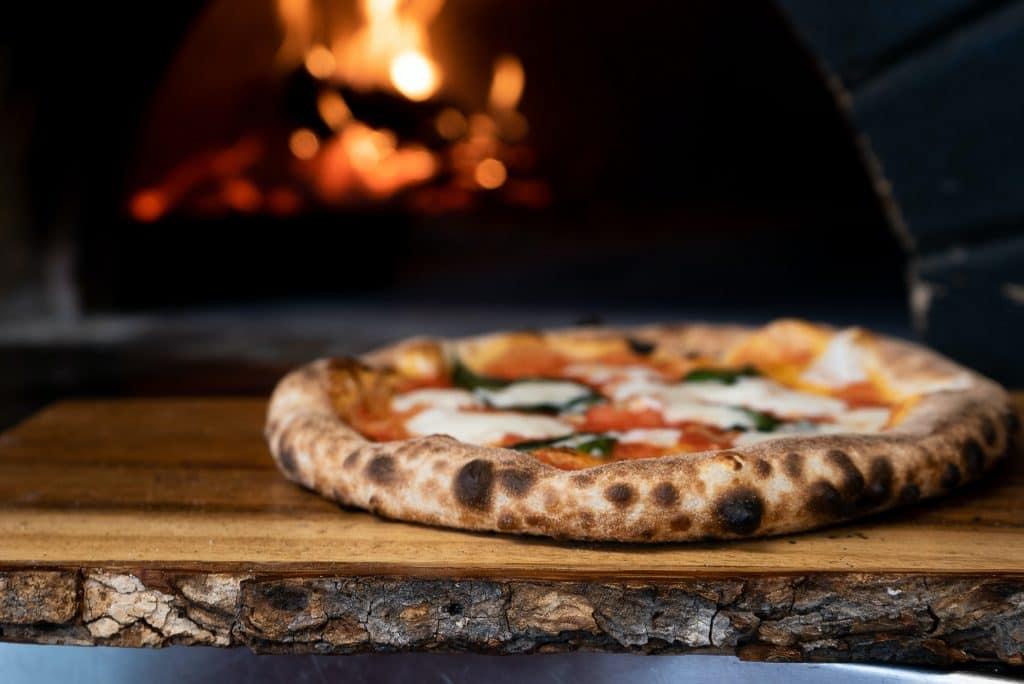 Neapolitanische Pizza in Nürnberg.