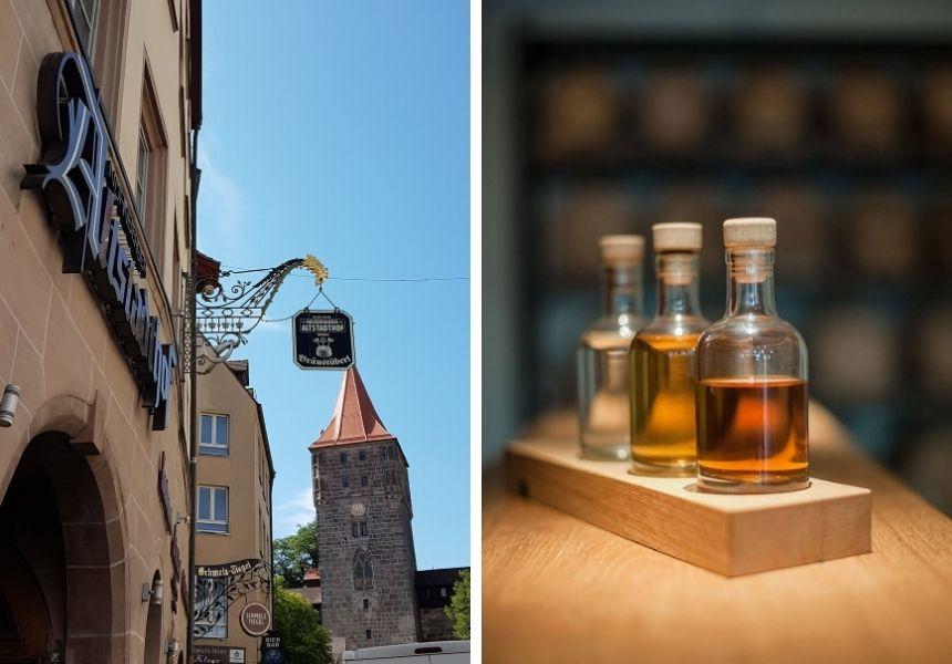 Gin gibt es im Altstadthof in Nürnberg