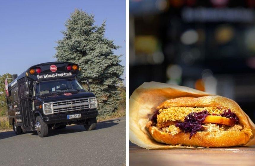 Fränkisches Streetfood gibts beim Food Truck Goud.