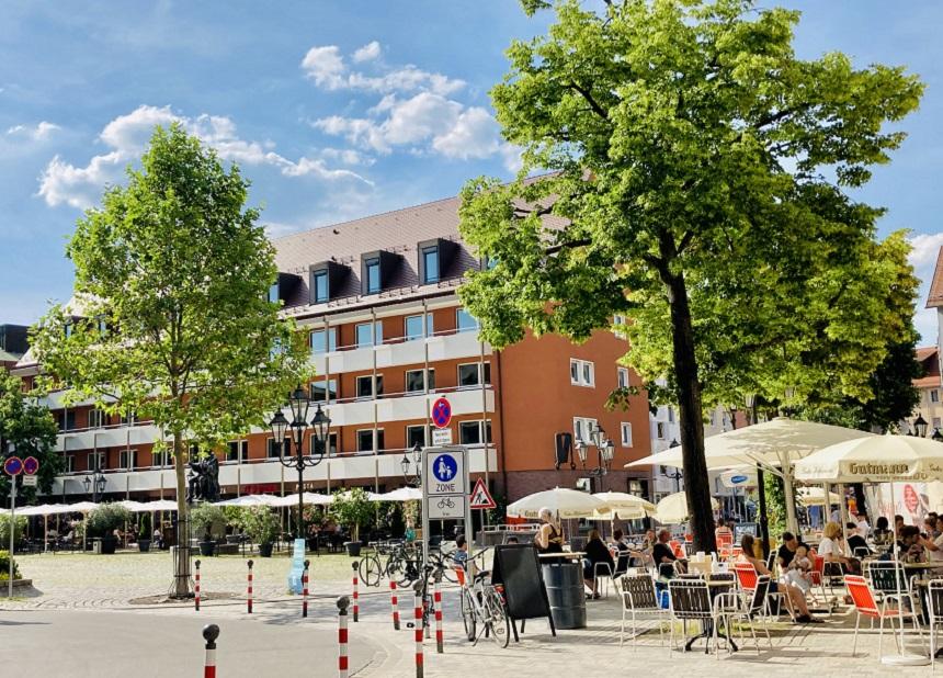 Das Café Katz ist ein beliebter Szenetreff in Nürnberg.