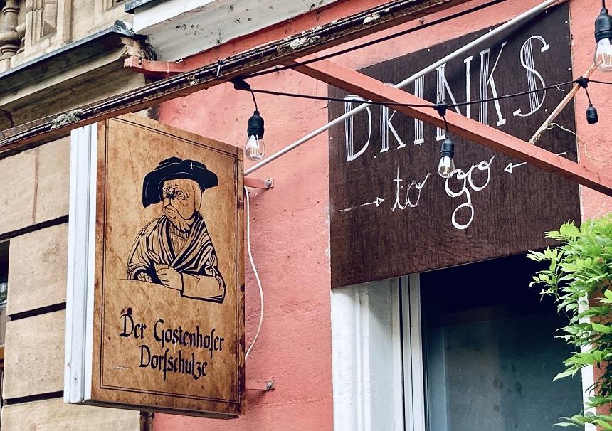 Die Dorfschulze ist eine schöne Bar in Gostenhof.