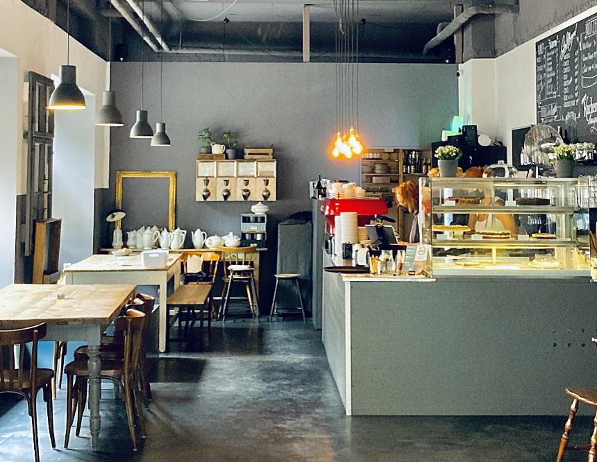 Das Café Mainheim in Gostenhof in Nürnberg ist beliebt.