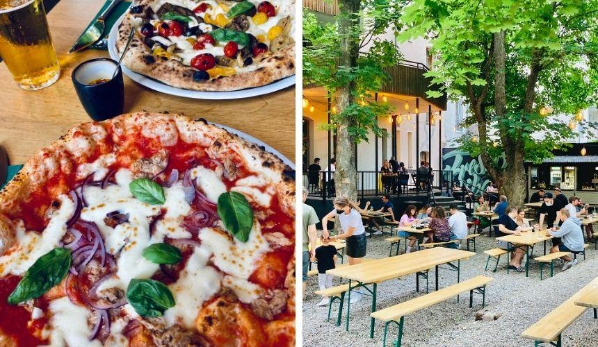 Neapolitanische Pizza ist beliebt in Nürnberg.