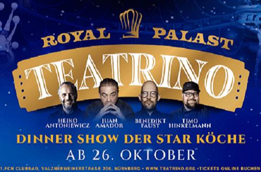 Teatrino Royal Palast Show in Nürnberg.