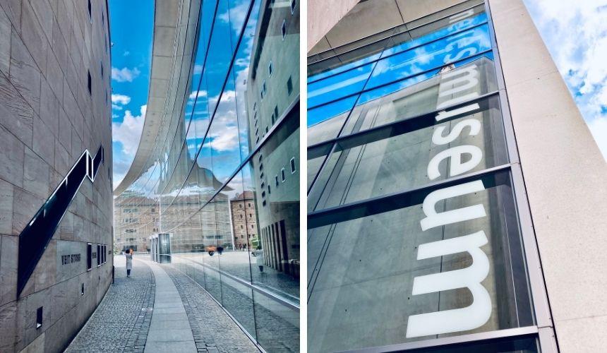 Das neue Museum in Nürnberg.