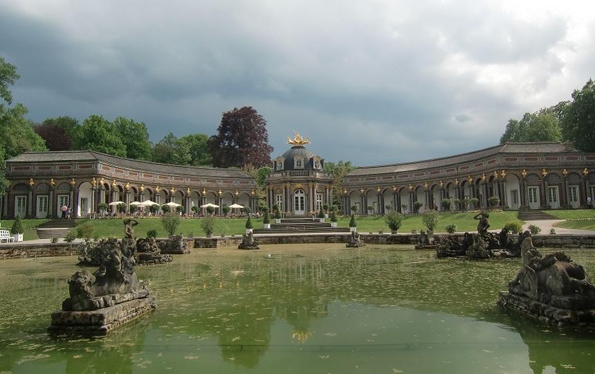 Die Eremitage in Bayreuth in Franken.