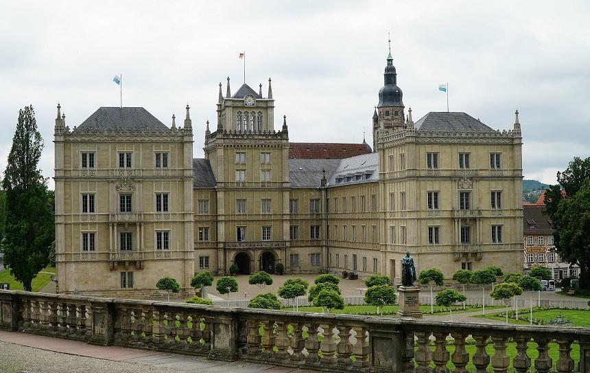 Die Ehrenburg im fränkischen Coburg.