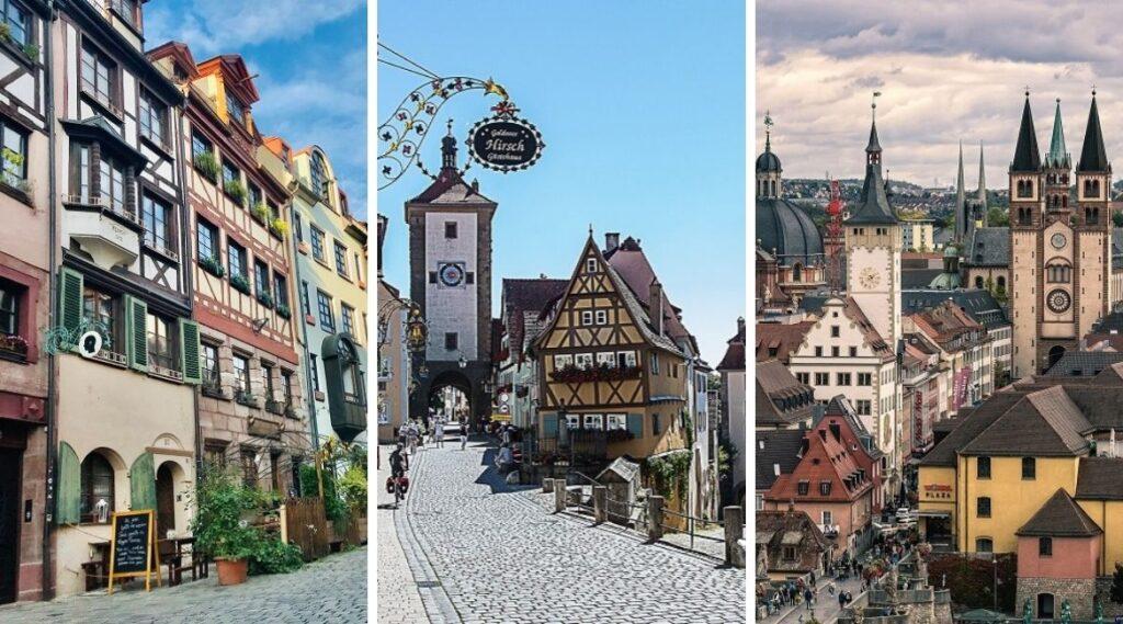 Die schönsten Städte in Franken.